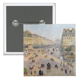 La avenida de L'Opera, París Pin Cuadrado