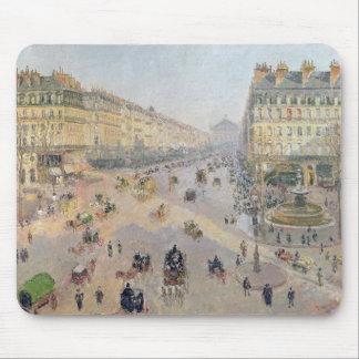 La avenida de L'Opera, París Tapete De Raton