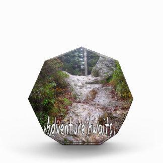 La aventura aguarda apenas sobre el rastro