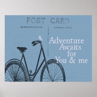La aventura aguarda el poster