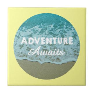 La aventura aguarda la teja