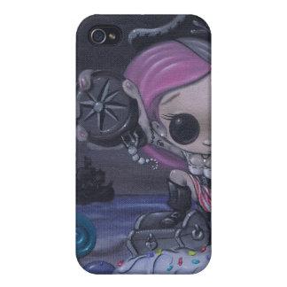 la aventura es caja verdadera de la mota del tesor iPhone 4 protector