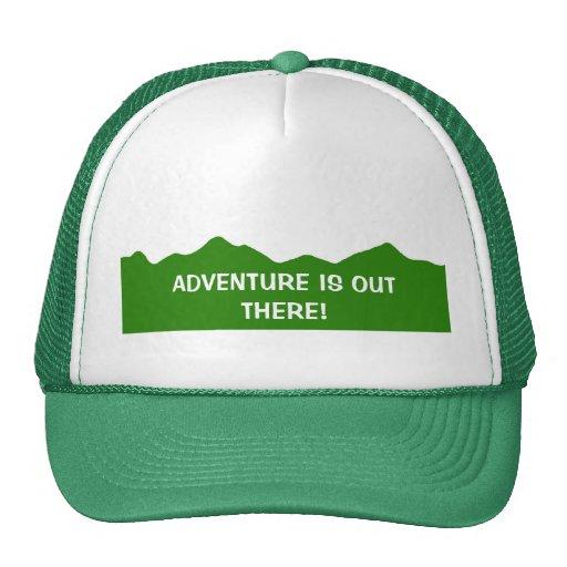 ¡La aventura está hacia fuera allí! Gorra del Snap