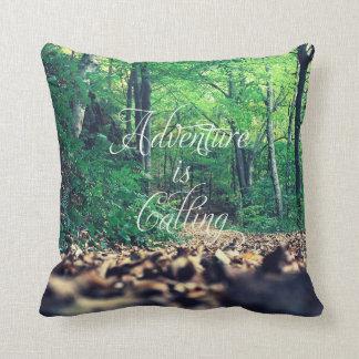 La aventura está llamando almohada