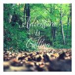 La aventura está llamando comunicado personal