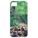 La aventura está llamando iPhone 5 Case-Mate cárcasa