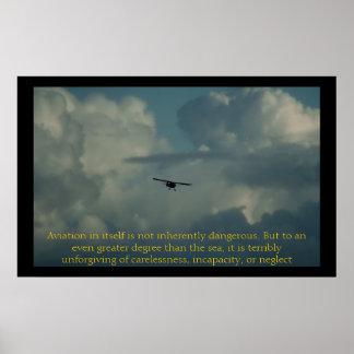La aviación en sí mismo no es intrínsecamente peli póster