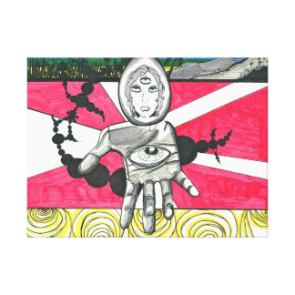 LA Awakening Canvas Gallery Wrap Canvas