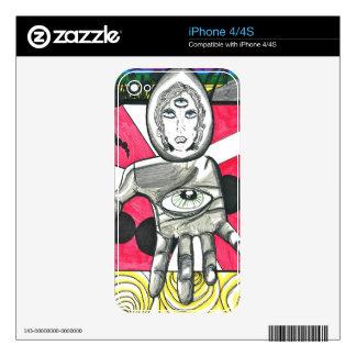 LA Awakening IPhone skin Decals For The iPhone 4S