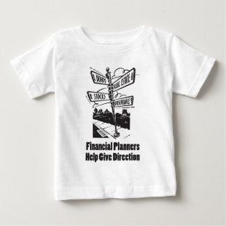 La ayuda de los planificadores financieros da polera
