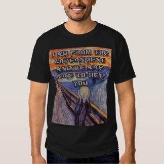 """¡La ayuda del grito"""" y del gobierno Munch's """"! Polera"""