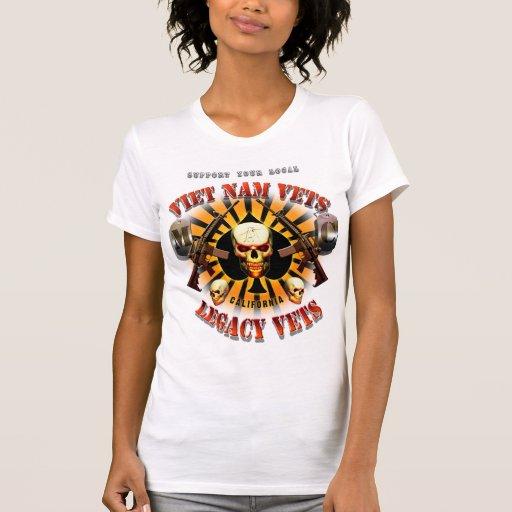 La ayuda Vietnam/las señoras de la bujía métrica d Camiseta