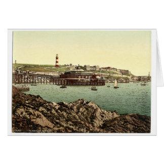 La azada, del ancla oxidada, Plymouth, Inglaterra Tarjetas