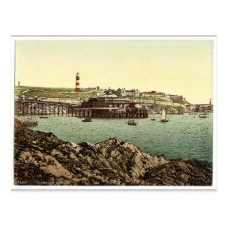 La azada, del ancla oxidada, Plymouth, Inglaterra Postales