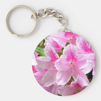 La azalea florece llavero