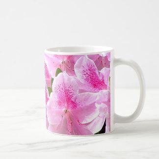 La azalea florece taza