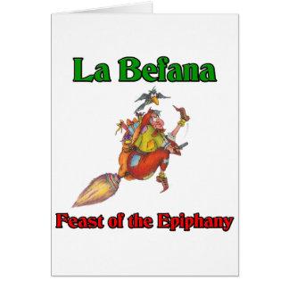 La Bafana Feast Of The Epiphany Card