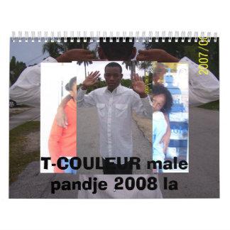 la bagay 2008 calendario
