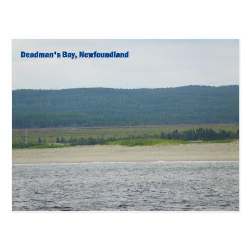 La bahía de Deadman, Terranova Tarjetas Postales