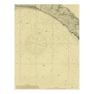 La bahía de Drake, California Tarjetas Postales