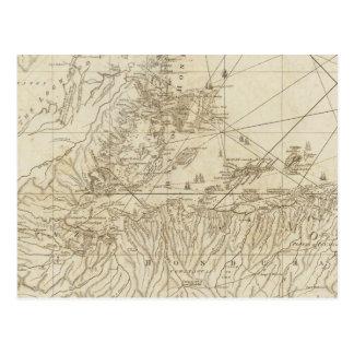 La bahía de Honduras Tarjeta Postal