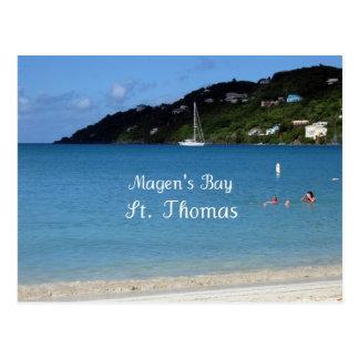 La bahía de Magen, St Thomas Postales