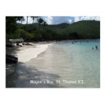 La bahía de Magen, St Thomas Tarjetas Postales