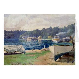 La bahía de Mosman, Sydney Felicitacion