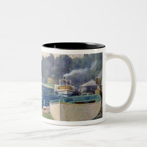 La bahía de Mosman, Sydney Tazas