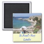 La bahía de San Pablo, Lindos Imanes Para Frigoríficos