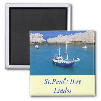 La bahía de San Pablo, Lindos Imán De Frigorífico
