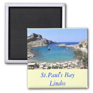 La bahía de San Pablo, Lindos Iman De Nevera