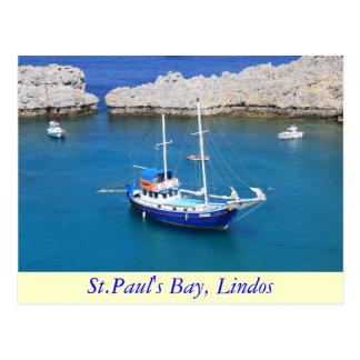 La bahía de San Pablo, Lindos Postales