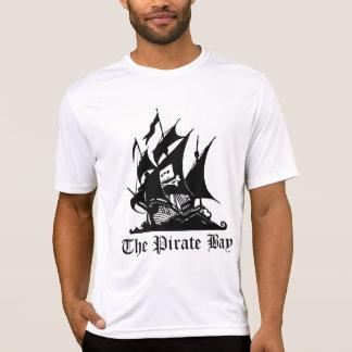 La bahía del pirata - camiseta de alta calidad playera