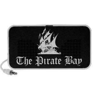 La bahía del pirata iPhone altavoces