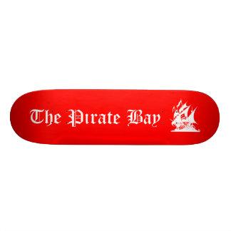 La bahía del pirata patín