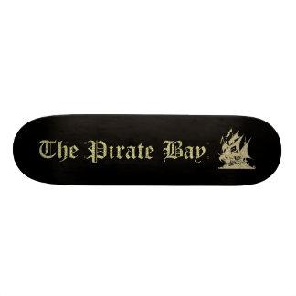 La bahía del pirata patineta personalizada