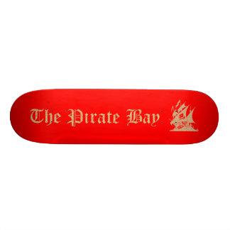 La bahía del pirata patines