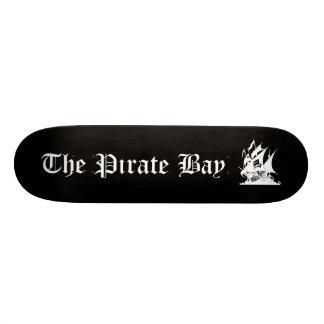 "La bahía del pirata patineta 7 3/8"""