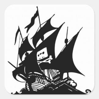 La bahía del pirata colcomanias cuadradases