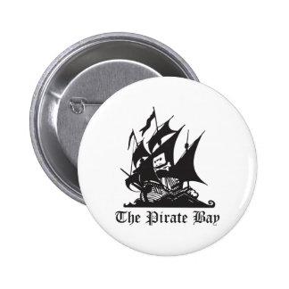 La bahía del pirata pin redondo 5 cm