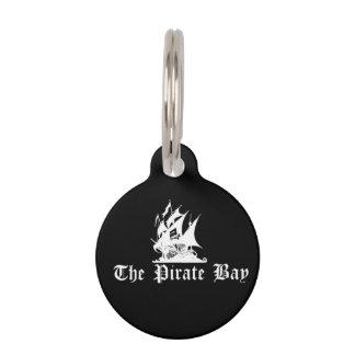 La bahía del pirata identificador para mascota