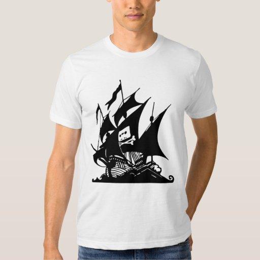 La bahía del pirata playera