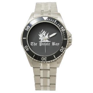 La bahía del pirata reloj de mano