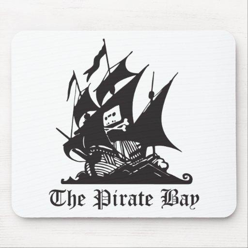 La bahía del pirata tapete de ratón