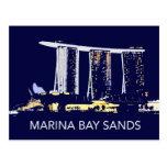 La bahía del puerto deportivo de Singapur enarena Postales
