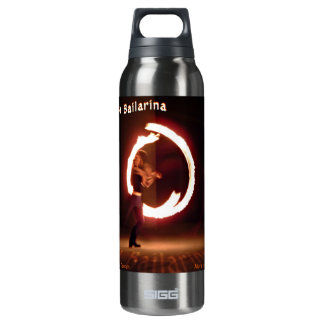 La Bailarina ~ Fire Dancer 16 Oz Insulated SIGG Thermos Water Bottle