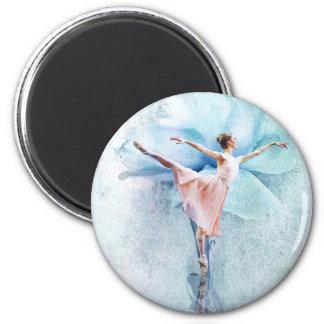 La bailarina imán para frigorifico