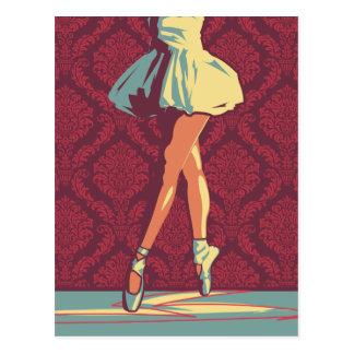 La bailarina tarjeta postal