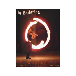 la Bailarina ~ the Dancer Canvas Print